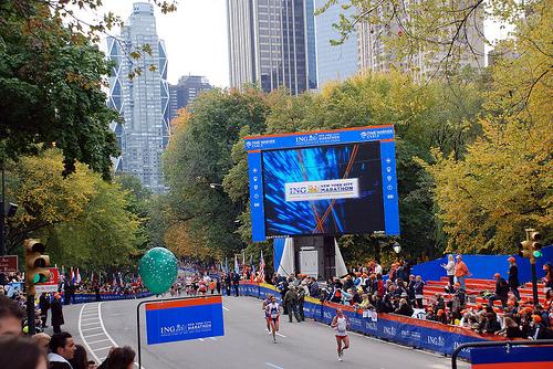 New York City Marathon 17x23